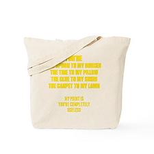 Useless Tote Bag