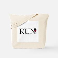 Run for Wine Tote Bag