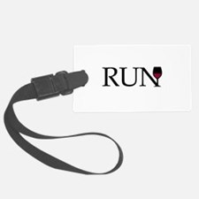 Run for Wine Luggage Tag