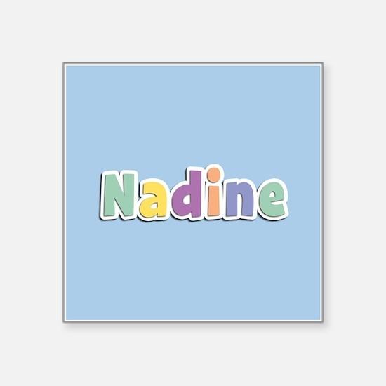 Nadine Spring14 Sticker