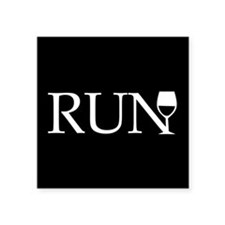 Run for Wine Sticker