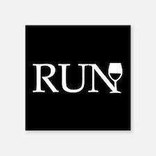 Run for Wine Sticker