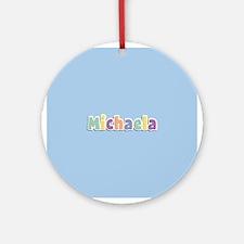 Michaela Spring14 Ornament (Round)