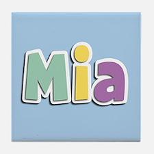 Mia Spring14 Tile Coaster