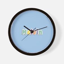 Melvin Spring14 Wall Clock