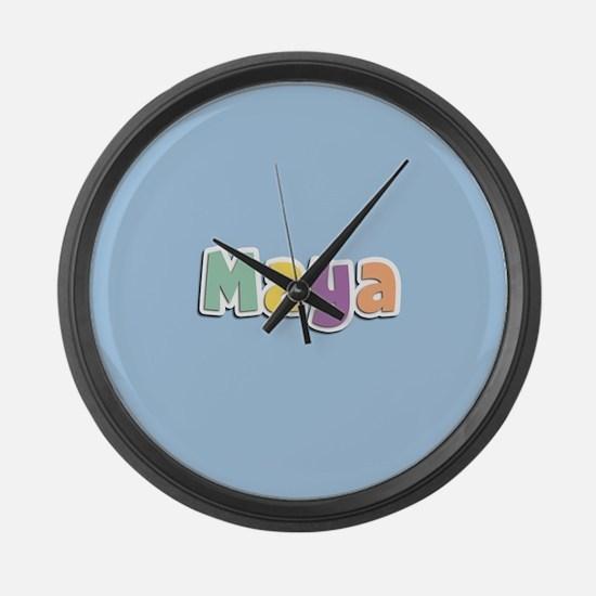 Maya Spring14 Large Wall Clock