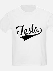 Tesla, Retro, T-Shirt