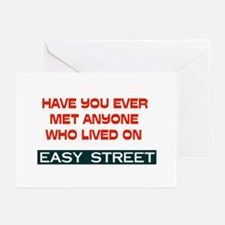 EASY STREET Greeting Cards (Pk of 10)