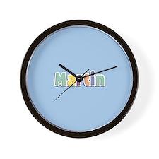 Martin Spring14 Wall Clock