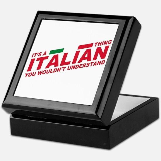 Italian thing Keepsake Box