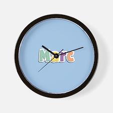 Marc Spring14 Wall Clock