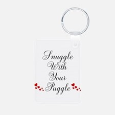 Snuggle With Your Puggle Keychains
