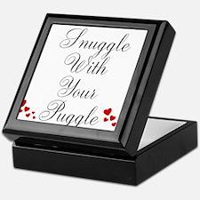 Snuggle With Your Puggle Keepsake Box