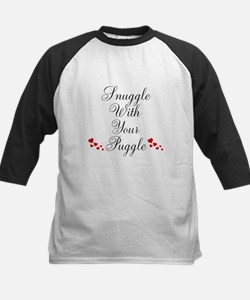 Snuggle With Your Puggle Baseball Jersey