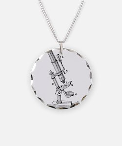 Geek gifts Microscope Necklace