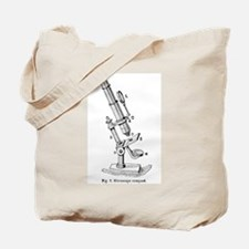 Geek gifts Microscope Tote Bag