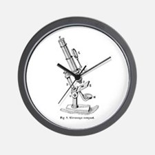 Geek gifts Microscope Wall Clock