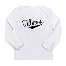 Tillmon, Retro, Long Sleeve T-Shirt
