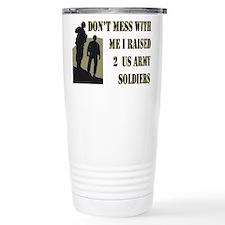Cute Army mom Travel Mug