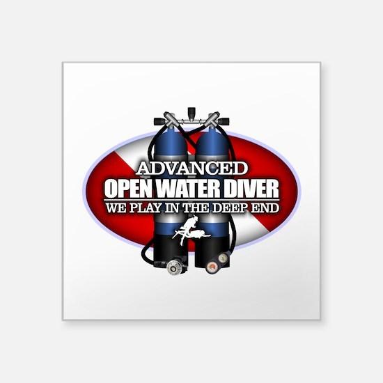 Advanced Open Water Sticker