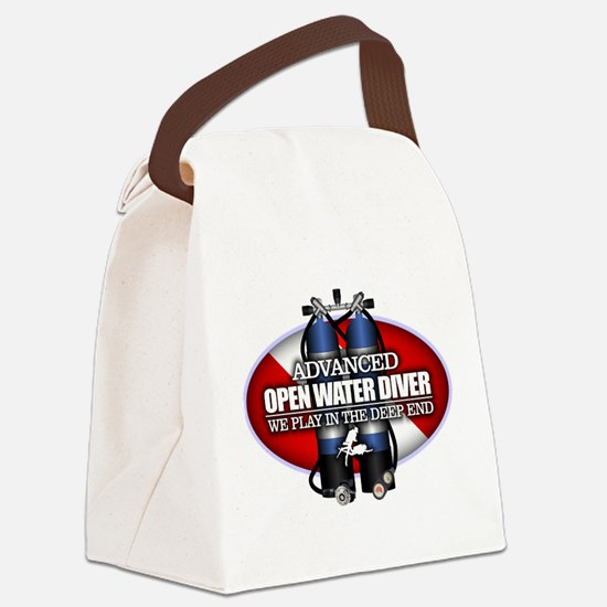 Advanced Open Water Canvas Lunch Bag