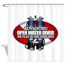 Advanced Open Water Shower Curtain