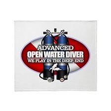 Advanced Open Water Throw Blanket
