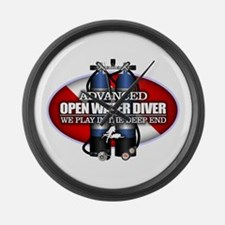 Advanced Open Water Large Wall Clock