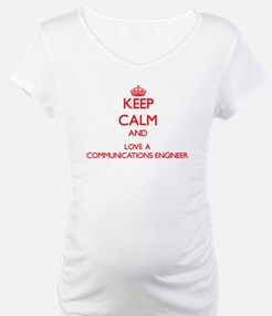 Keep Calm and Love a Communications Engineer Mater