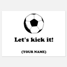 Personalized LETS KICK IT! Invitations