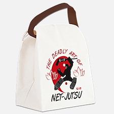 Net-Jutsu Canvas Lunch Bag