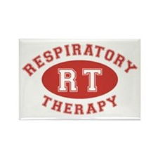 Respiratory Therapy - Athleti Rectangle Magnet