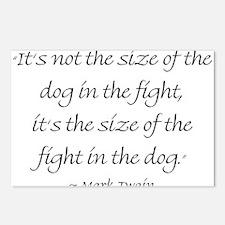 It's Not The Size Of The Dog In The Fight, It's Th