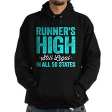 Runner's High. Still Legal. Hoody