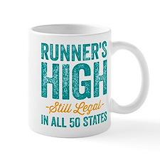 Runner's High. Still Legal. Mug