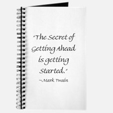The Secret Of Getting Ahead Is Getting Started Jou