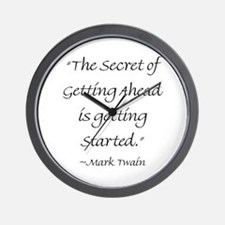 The Secret Of Getting Ahead Is Getting Started Wal