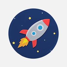 "rocket 3.5"" Button"