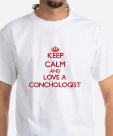 Keep Calm and Love a Conchologist T-Shirt