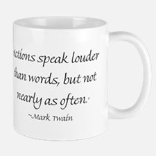Actions Speak Louder Than Words, But Not Nearly As