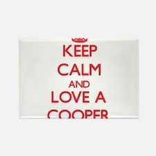Keep Calm and Love a Cooper Magnets
