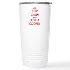 Keep Calm and Love a Cooper Travel Mug