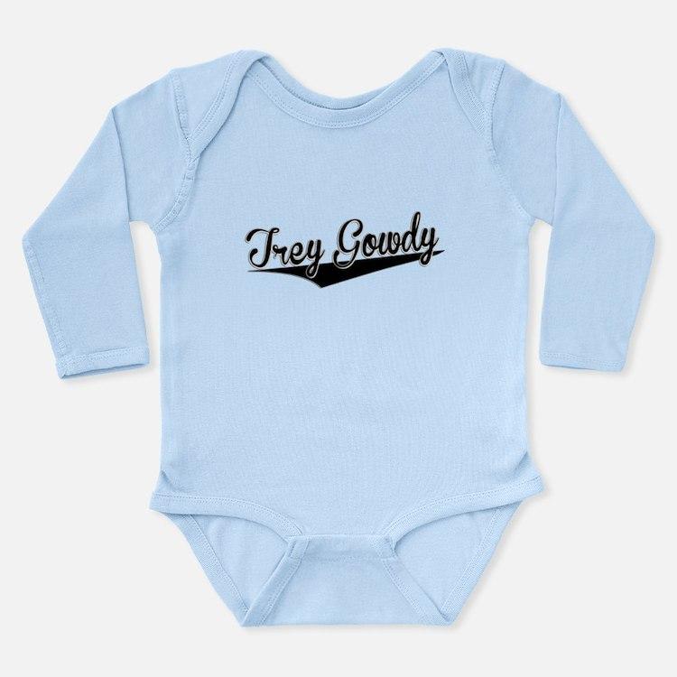 Trey Gowdy, Retro, Body Suit