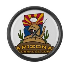 ArizonaCornhole.com Large Wall Clock