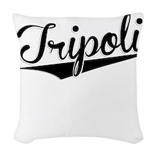 Tripoli, Retro, Woven Throw Pillow