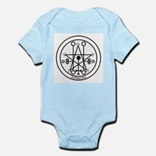 TILE Astaroth Seal - White BG.png Infant Bodysuit