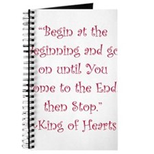 Begin At The Beginning Journal
