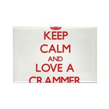 Keep Calm and Love a Crammer Magnets