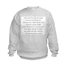 How Doth The Little Crocodile Sweatshirt
