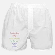Imagination Against Reality Boxer Shorts